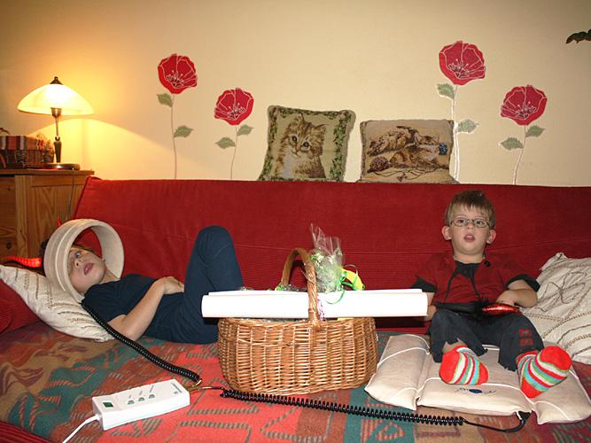 Famille Goldsmith pour ses enfants avec l'IMC et TDHA