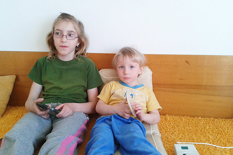 Famille Havelkova (pour les enfants)